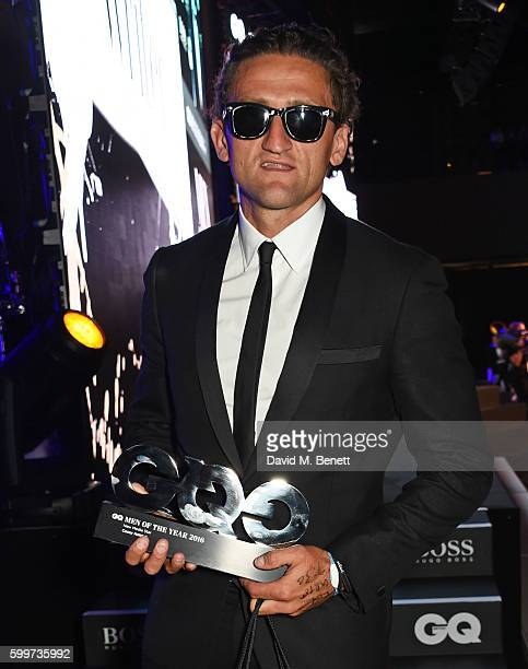 Casey Neistat winner of the New Media Star award attends the GQ Men Of The Year Awards 2016 at the Tate Modern on September 6 2016 in London England