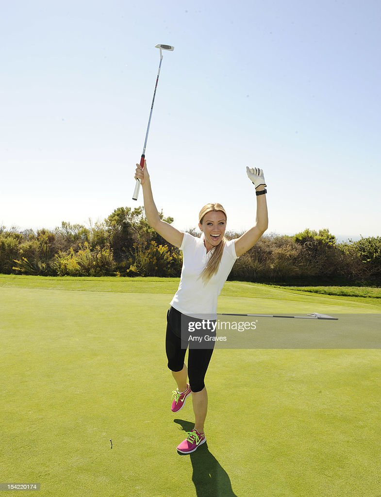 Casey Noble attends the Carter's Kids Golf Tournament at Trump National Golf Course on October 15, 2012 in Palos Verdes Estates, California.