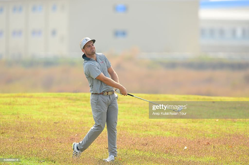 Casey O'toole of USA pictured during the final round of the Leopalace21 Myanmar Open at Royal Mingalardon Golf and Country Club on February 7, 2016 in Yangon, Myanmar.