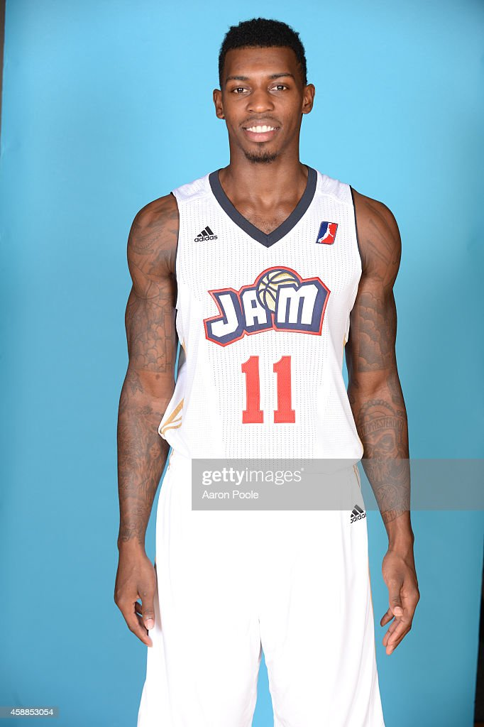 <a gi-track='captionPersonalityLinkClicked' href=/galleries/search?phrase=Casey+Prather&family=editorial&specificpeople=7358715 ng-click='$event.stopPropagation()'>Casey Prather</a> of the Bakersfield Jam poses for a picture during media day at the Dignity Health Event Center in Bakersfield, California on November 11, 2014 .