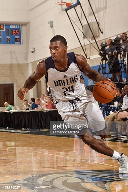 Casey Prather of the Dallas Mavericks drives to the basket against the Oklahoma City Thunder during the 2016 Southwest Airlines Orlando Pro Summer...
