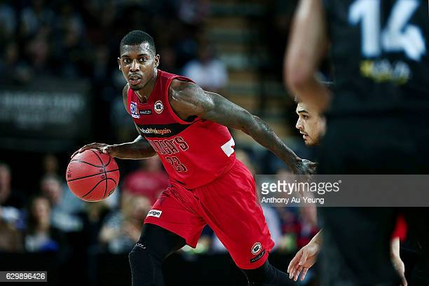 Casey Prather of the Wildcats in action during the round 11 NBL match between New Zealand Breakers and Perth Wildcats at Vector Arena on December 15...