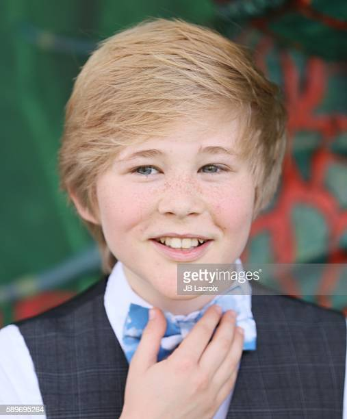 Casey Simpson attends the premiere Focus Features' 'Kubo and The Two Strings' on August 14 2016 in Universal City California