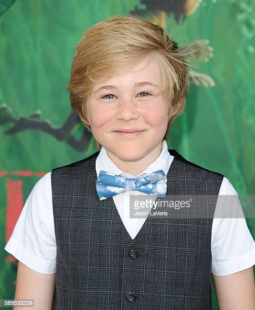Casey Simpson attends the premiere of 'Kubo and the Two Strings' at AMC Universal City Walk on August 14 2016 in Universal City California