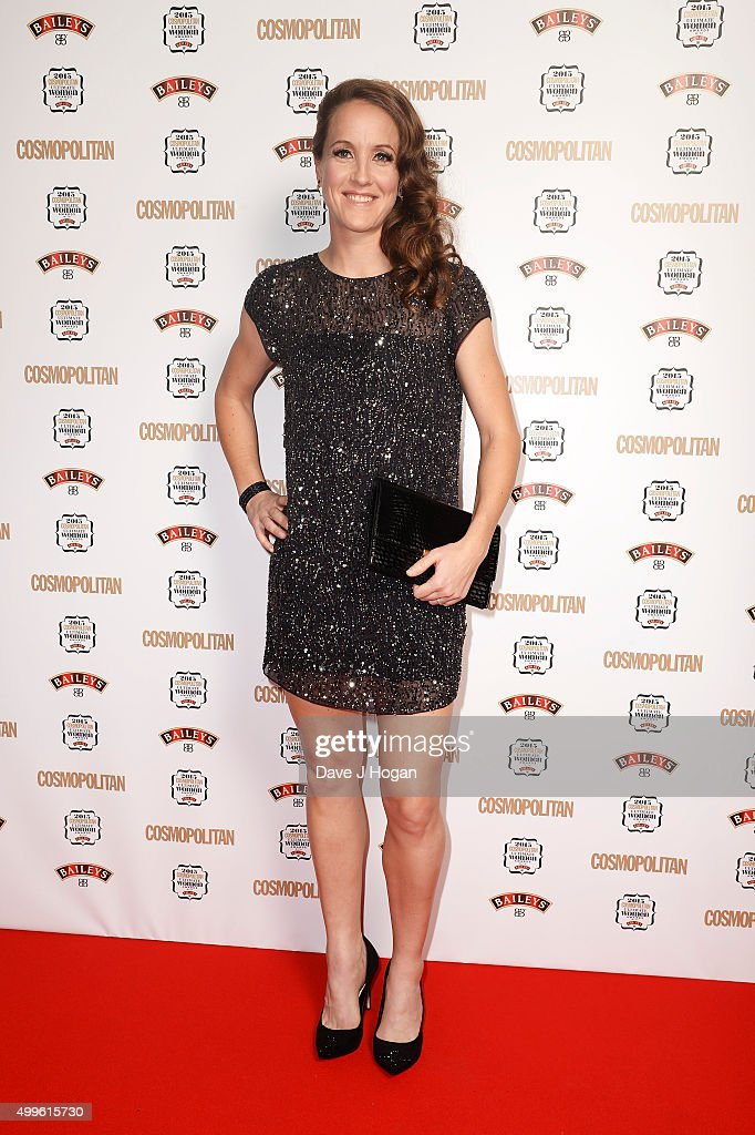 Casey Stoney attends the Cosmopolitan Ultimate Women Of The Year Awards at One Mayfair on December 2, 2015 in London, England.