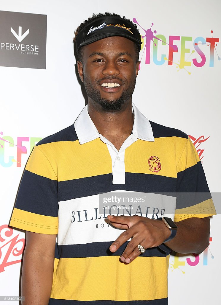 Casey Veggies attends EpicFest 2016 hosted by L.A. Reid and Epic Records at Sony Studios on June 25, 2016 in Los Angeles, California. at Sony Pictures Studios on June 25, 2016 in Culver City, California.