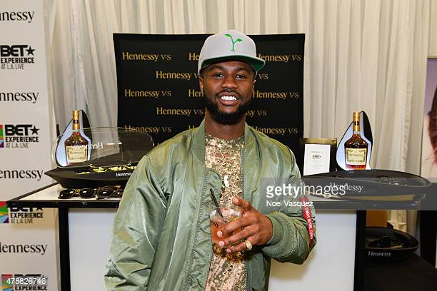 Casey Veggies attends the official BET Experience gifting suite sponsored by Hennessy at Los Angeles Convention Center on June 27 2015 in Los Angeles...