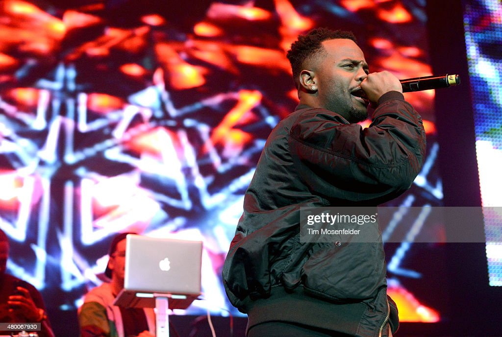 Casey Veggies performs during Power 106's Powerhouse 2015 at Honda Center on May 16, 2015 in Anaheim, California.