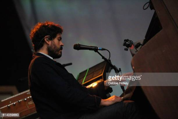 Casey Wescott of Fleet Foxes performing live on stage at Iveagh Gardens on July 13 2017 in Dublin Ireland