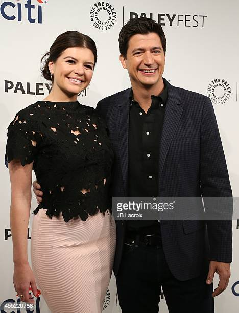 Casey Wilson and Ken Marino attend the 2014 PaleyFestFall TV Previews NBC on September 10 in Beverly Hills California