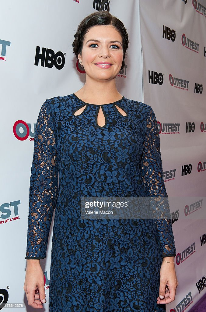 Casey Wilson attends the 2013 Outfest Opening Night Gala Of 'C.O.G.' - Red Carpet at Orpheum Theatre on July 11, 2013 in Los Angeles, California.