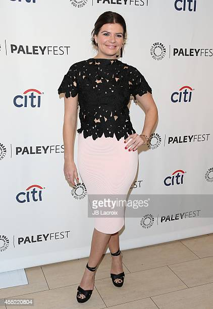 Casey Wilson attends the 2014 PaleyFestFall TV Previews NBC on September 10 in Beverly Hills California