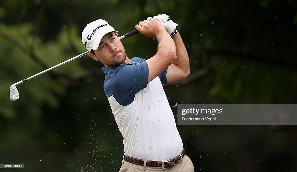 Casey Wittenberg of the USA hits a shot during the second round of the 2014 Brasil Champions Presented by HSBC at the Sao Paulo Golf Club on March 13, 2015 in Sao Paulo, Brazil.