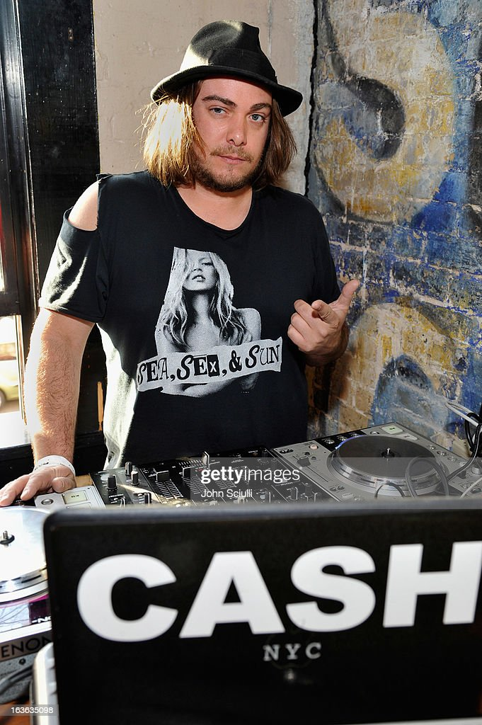 DJ Cash attends the Samsung Galaxy 'Artifact' after party at SXSW on March 13, 2013 in Austin, Texas.