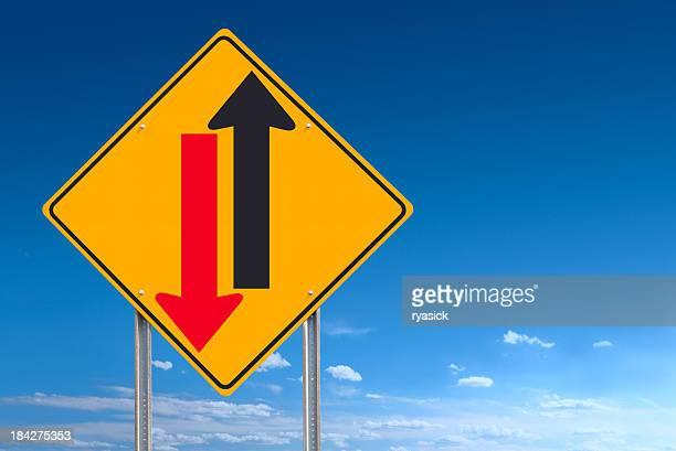 Cash Flow Road Sign