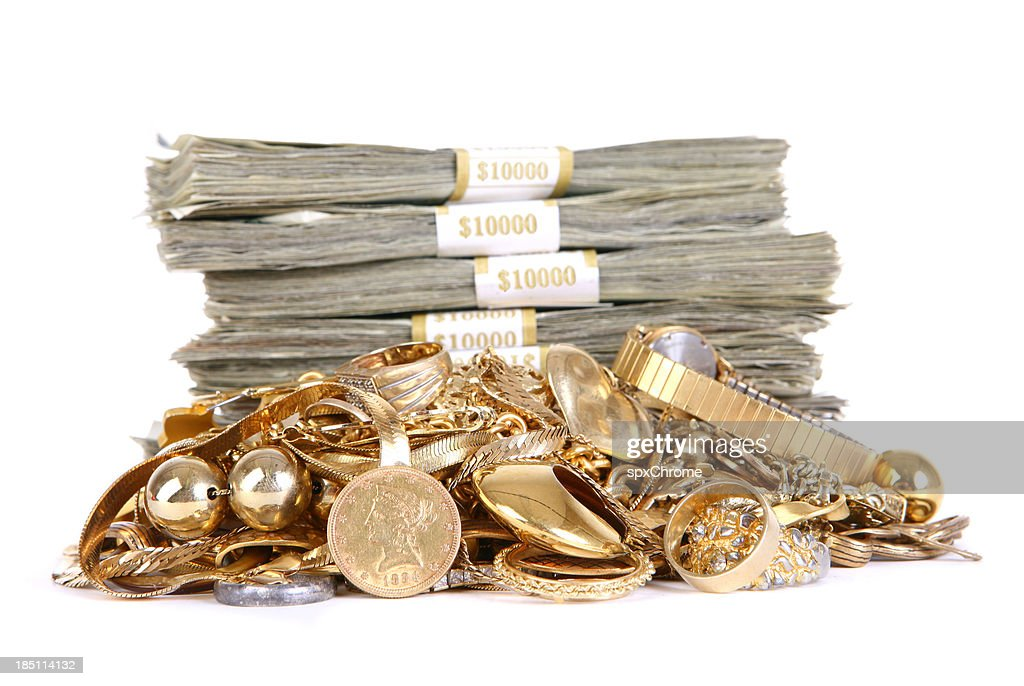 Cash for Gold : Stock Photo