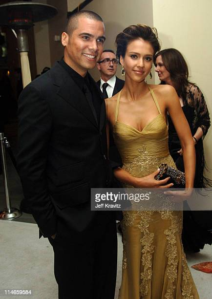 Cash Warren and Jessica Alba presenter during The 78th Annual Academy Awards Governor's Ball at Kodak Theatre in Hollywood California United States