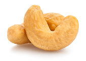 cashew nuts isolated