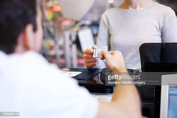 Cashless payment is so convenient