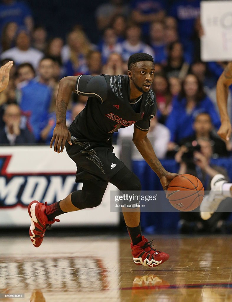 Cashmere Wright #1 of the Cincinnati Bearcats moves against the DePaul Blue Demons at Allstate Arena on January 15, 2013 in Rosemont, Illinois. Cincinnati defeated DePaul 75-70.