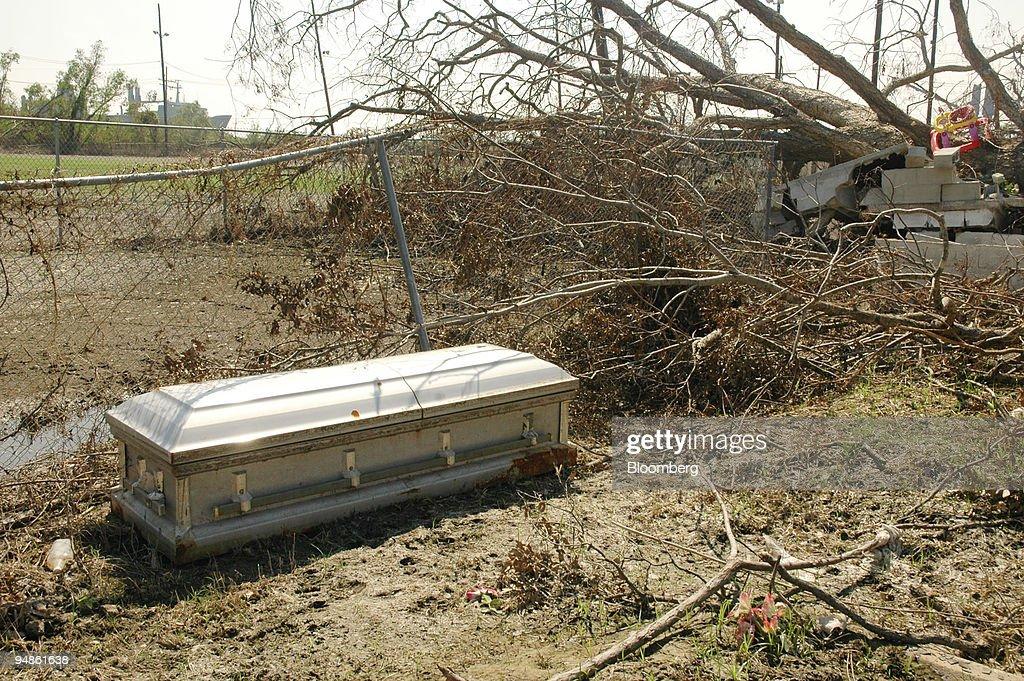 Casket dumped next to Evergreens Cemetery in Bushwick, Brooklyn ...