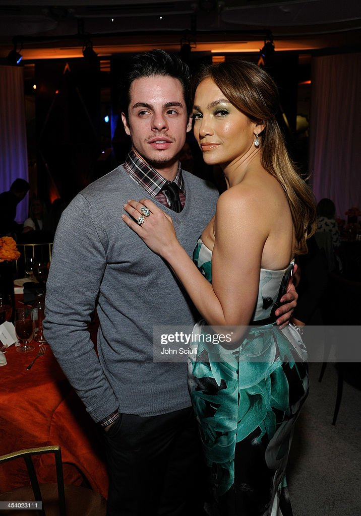 Casper Smart and actress/singer Jennifer Lopez attend the March of Dimes Celebration of Babies Luncheon at Beverly Hills Hotel on December 6, 2013 in Beverly Hills, California.