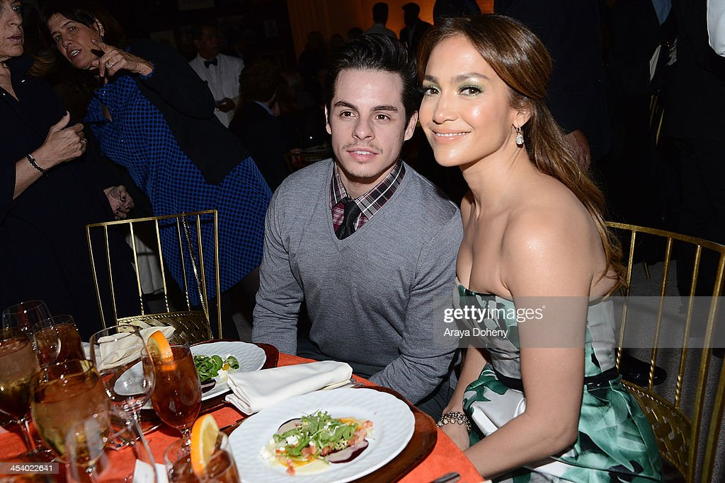 Casper Smart (L) and actress/singer Jennifer Lopezattend the March of Dimes Celebration of Babies Luncheonat Beverly Hills Hotel on December 6, 2013 in Beverly Hills, California.