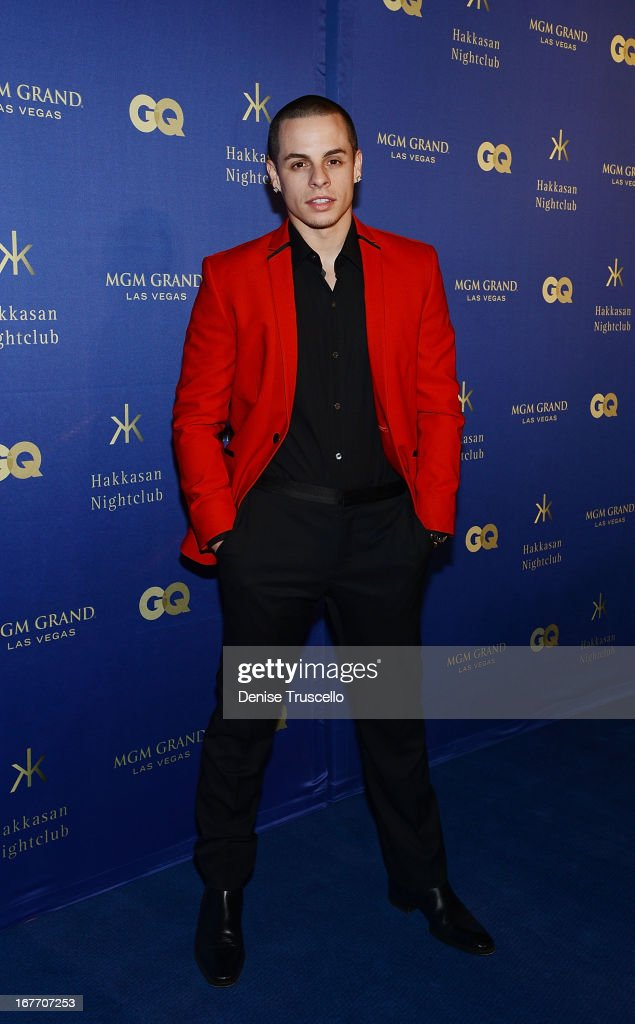 <a gi-track='captionPersonalityLinkClicked' href=/galleries/search?phrase=Casper+Smart&family=editorial&specificpeople=7596672 ng-click='$event.stopPropagation()'>Casper Smart</a> arrives at the grand opening of Hakkasan Nightclub at the MGM Grand on April 27, 2013 in Las Vegas, Nevada.