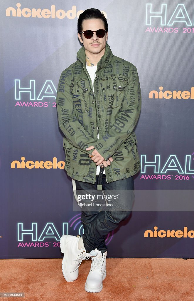 Casper Smart attends the 2016 Nickelodeon HALO awards at Basketball City Pier 36 - South Street on November 11, 2016 in New York City.