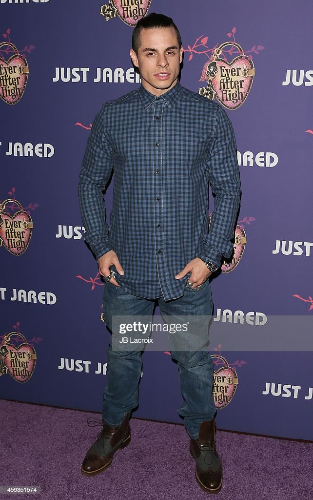 Casper Smart attends the Just Jared's Homecoming Dance at the El Rey Theater on November 20, 2014 in Los Angeles, California.