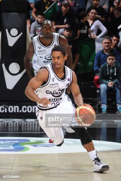 Casper Ware of Granarolo in action during the LegaBasket Serie A match between Granarolo Bologna and Umana Venezia at Unipol Arena on November 24...