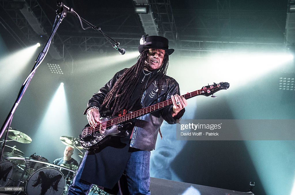 Cass from Skunk Anansie performs at Le Zenith on November 24, 2012 in Paris, France.