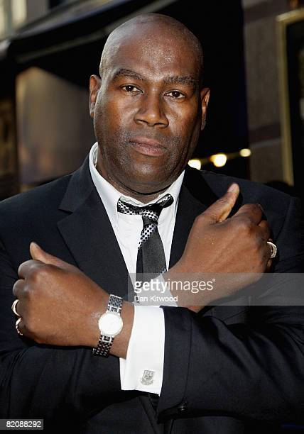 Cass Pennant arrives at the premiere of 'Cass' at the Empire Leicester Square on July 28 2008 in London England