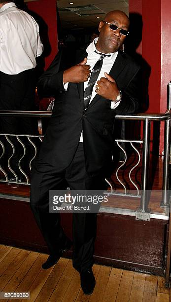 Cass Pennant attends the afterparty following the UK film premiere of 'Cass' at Metra on July 28 2008 in London England