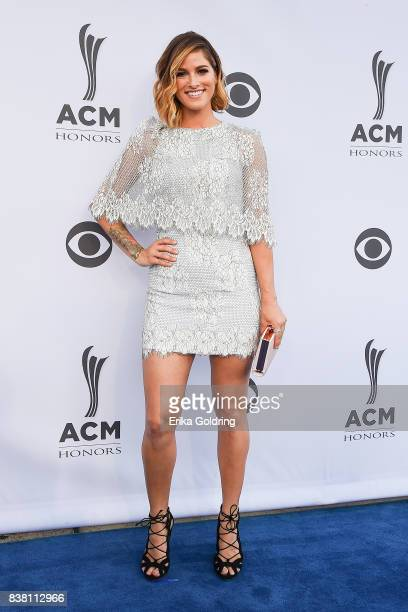 Cassadee Pope attends the 11th Annual ACM Honors at the Ryman Auditorium on August 23 2017 in Nashville Tennessee