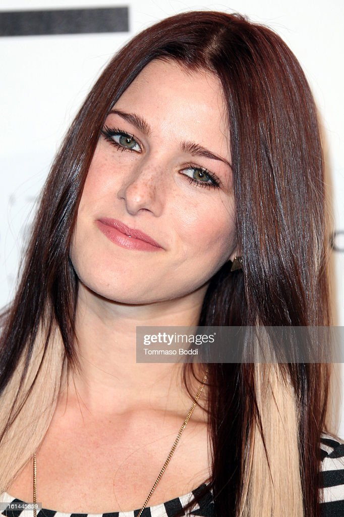 Cassadee Pope attends the Republic Records post GRAMMY party held at The Emerson Theatre on February 10, 2013 in Hollywood, California.
