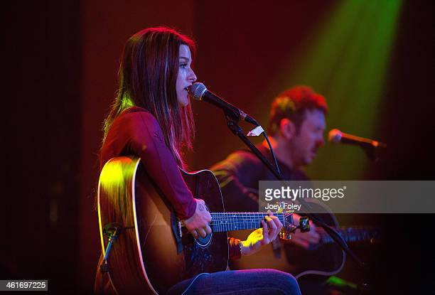 Cassadee Pope performs in concert at The Vogue on January 9 2014 in Indianapolis Indiana