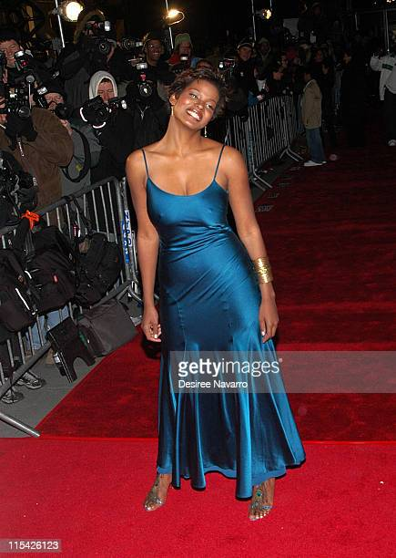 Cassandra Freeman during 'Inside Man' New York City Premiere at Ziegfield Theater in New York City New York United States