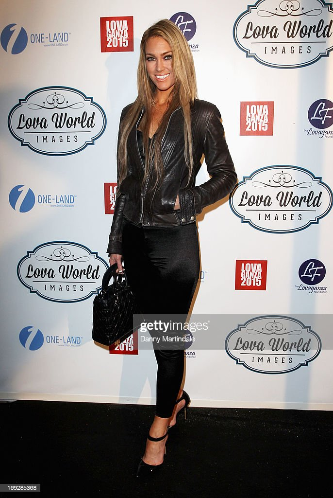 Cassandra Harris attends Lova World Images party during the 66th Annual Cannes Film Festival at Baoli Beach on May 22, 2013 in Cannes, France.