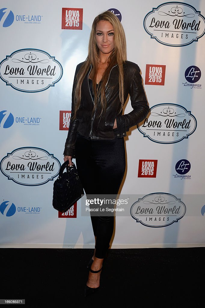Cassandra Harris attends the Lova World Images Closing Party during the 66th Annual Cannes Film Festival at Baoli Beach on May 22, 2013 in Cannes, France.