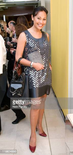 Cassandra Hepburn attends the launch exhibition 'Skin and Bones' for the new Embankment Galleries at the Somerset House on April 22 2008 in London...
