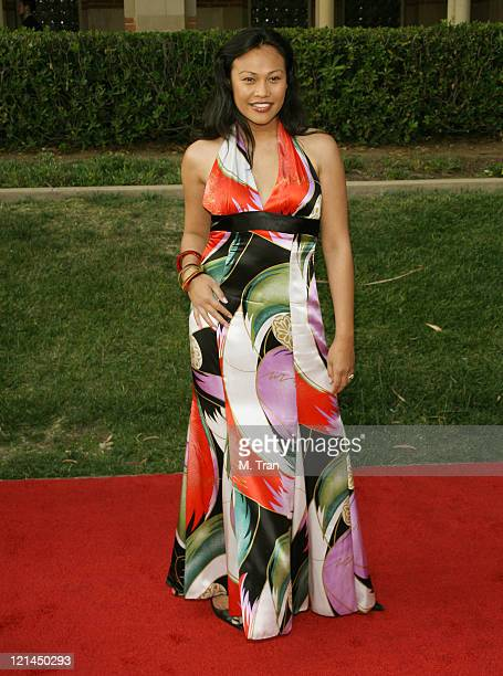 Cassandra Hepburn during 2007 AZN Asian Excellence Awards Arrivals at Royce Hall UCLA Campus in Westwood California United States