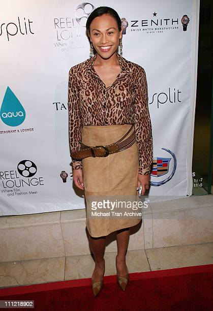 Cassandra Hepburn during Film Foundation PreOscar Party Arrivals at Aqua Lounge in Beverly Hills California United States