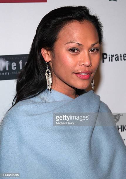 Cassandra Hepburn during 'In the Blink of an Eye' Los Angeles Premiere at Highlands in Hollywood California United States