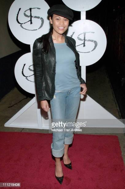 Cassandra Hepburn during MercedesBenz Fall 2006 LA Fashion Week at Smashbox Studios Uriel Saenz After Party at Spider Club in Hollywood California...