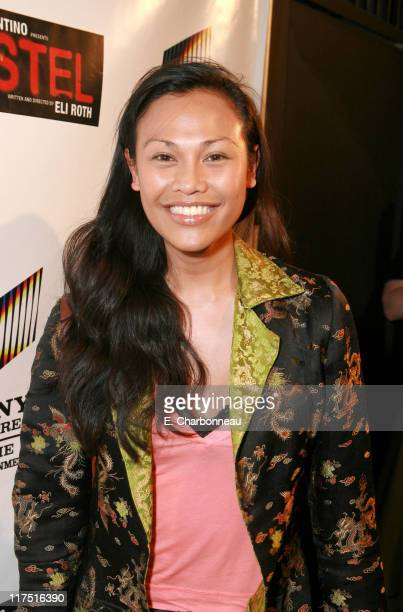 Cassandra Hepburn during Sony Pictures Entertainment Celebrates Director Eli Roth's Birthday and the DVD Launch of His Film 'Hostel' at Rokbar in...
