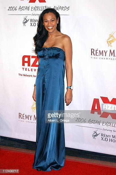 Cassandra Hepburn during The 2006 Asian Excellence Awards at The Wiltern LG Theater in Los Angeles California United States