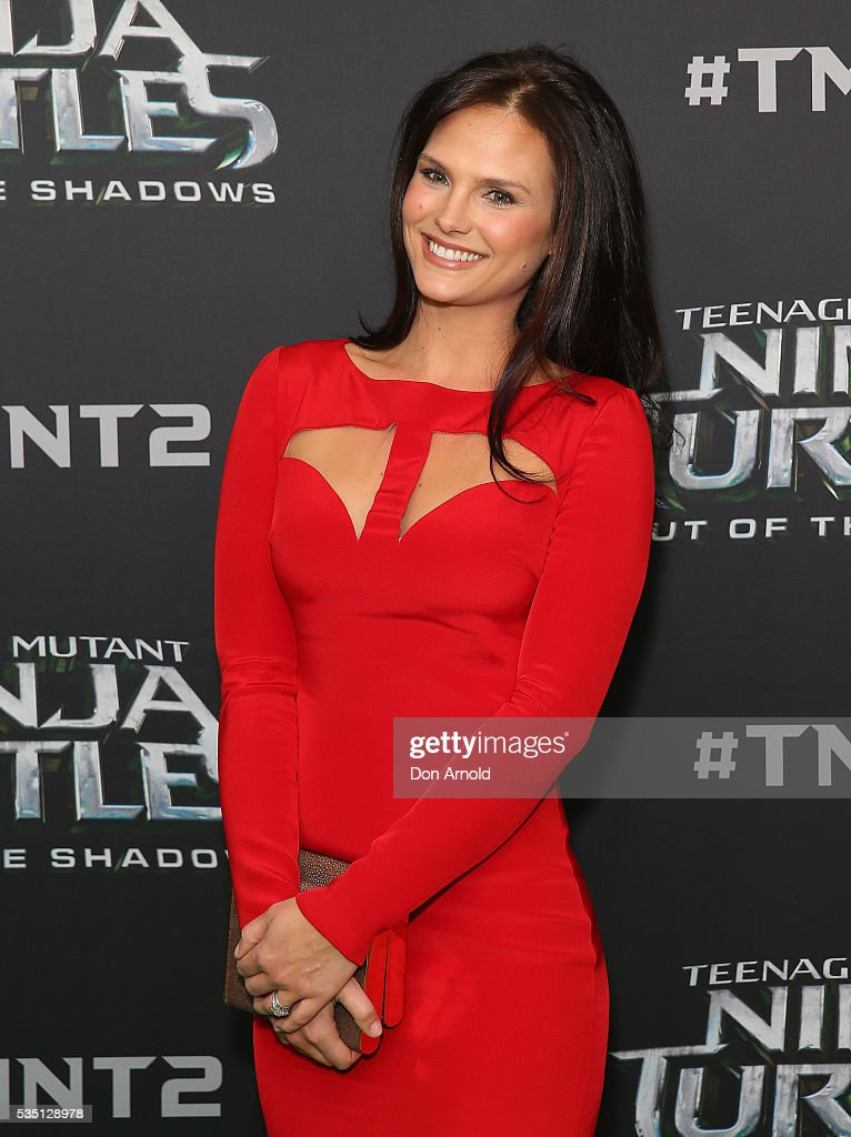 Cassandra Jean attends the Australian Premiere of Teenage Mutant Ninja Turtles 2 at Event Cinemas George Street on May 29, 2016 in Sydney, Australia.