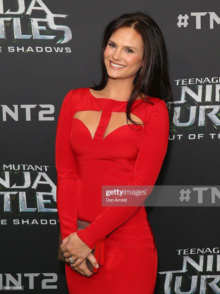 Cassandra Jean attends the Australian Premiere of Teenage Mutant Ninja Turtles 2 at Event Cinemas George Street on May 29, 2016 in Sydney, Australia.