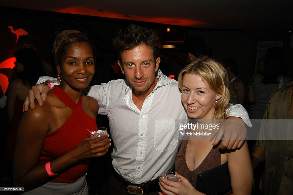 Cassandra Johnson Adam Walden and attend GenArt Fashion Show After Party at Providence on September 9 2005 in New York City